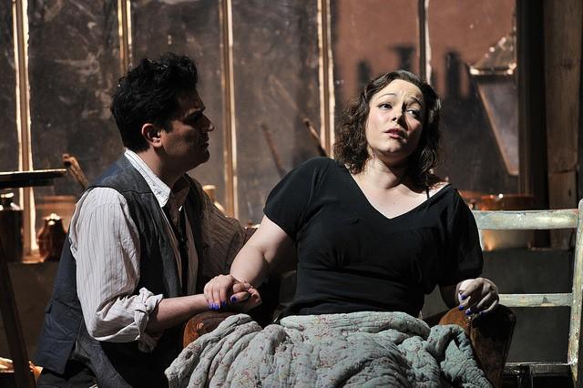 Saimir Pirgu y Eleonora Buratto. Foto: R.Bofill