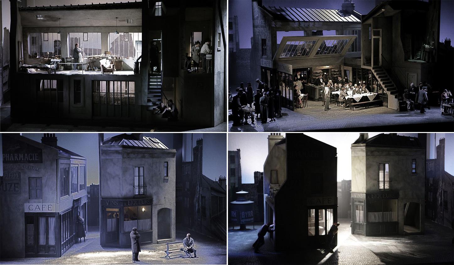 Encajes escénicos para La Bohème. Foto: English National Opera.