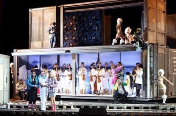 Un Don Giovanni en Múnich lastrado por una estrafalaria producción. Foto: W. Hösl