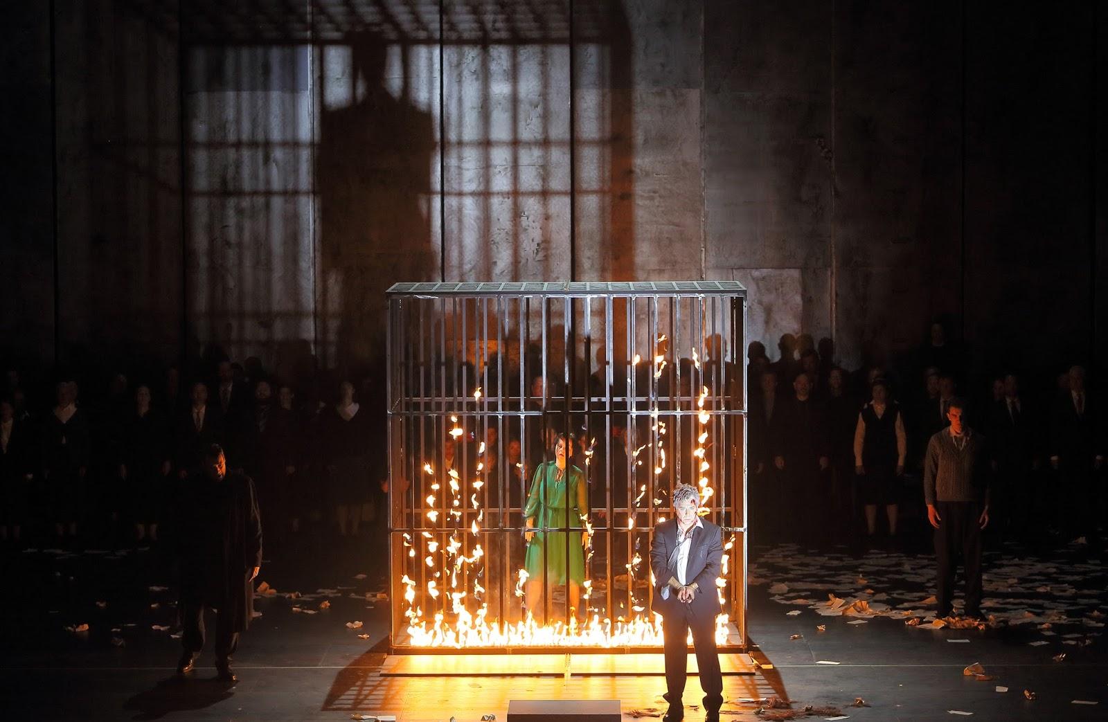 A l´Opéra de Munich, Calixto Bieito met en scène La juive face au mur de la honte