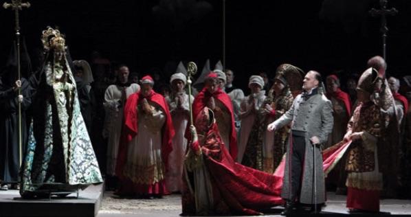 Una inolvidable Tosca en Munich con Kaufmann, Harteros y Terfel. Foto: W. Hösl