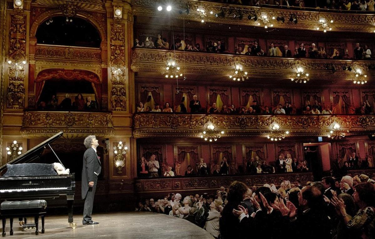 Recital de Jonas Kaufmann en Buenos Aires. Foto: Arnaldo Colombaroli/Teatro Colón