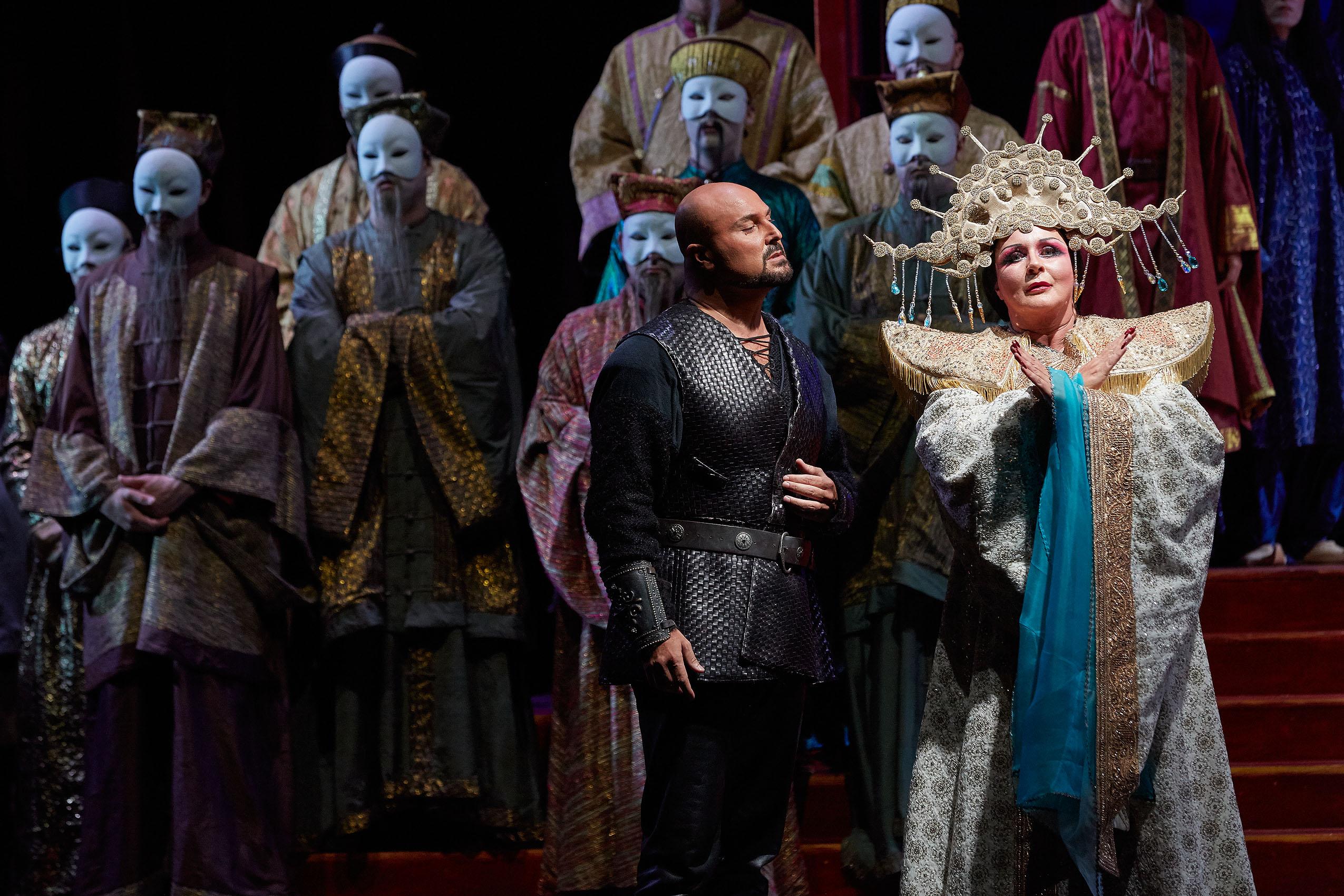 Irene Theorin triunfa como Turandot en Peralada. Foto: Toti Ferrer