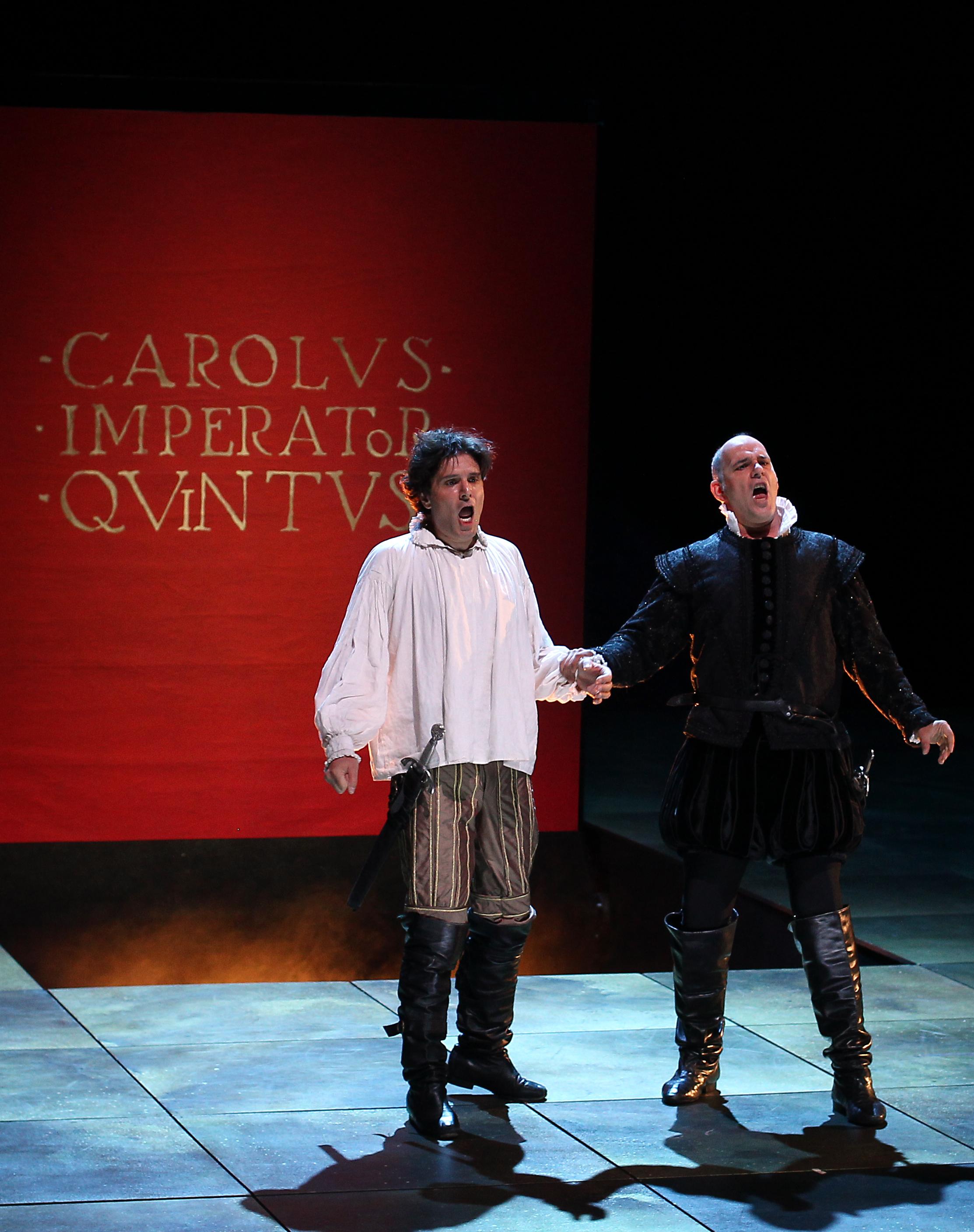 Don Carlo en San Lorenzo de El Escorial. Foto: Jaime Villanueva