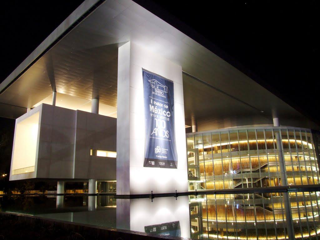 El Teatro del Bicentenario de León México. Foto: © 2012 Teatro del Bicentenario