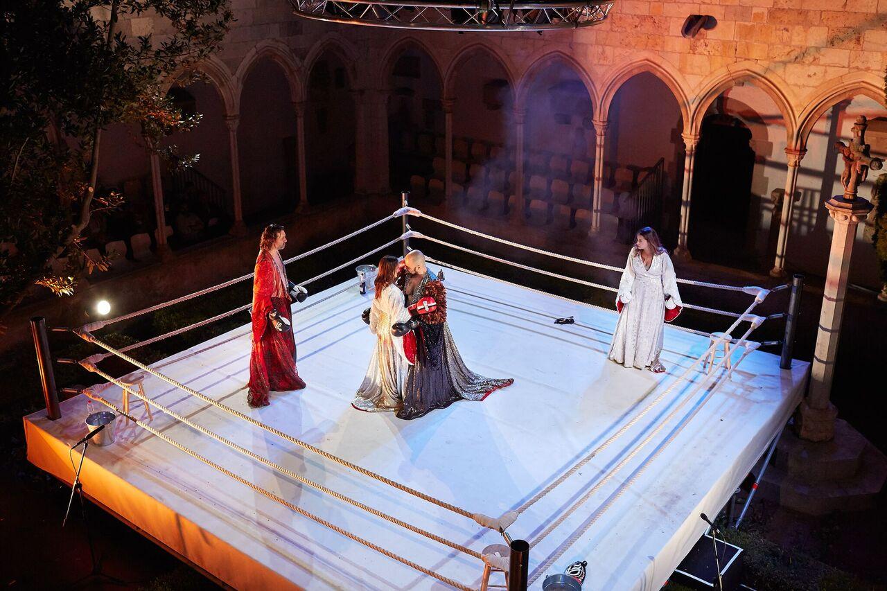 Combattimento: Peralada pone a Monteverdi entre las cuerdas. Foto: Toti Ferrer