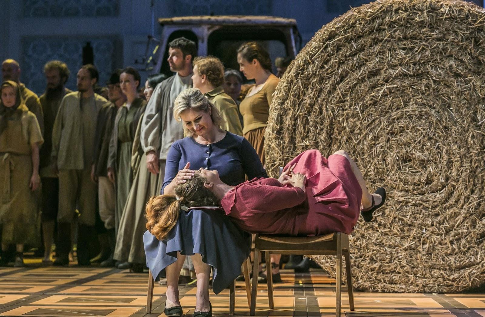 Remarquable mise en scène d´Eugène Onéguine par Markus Bothe au Semperoper de Dresde