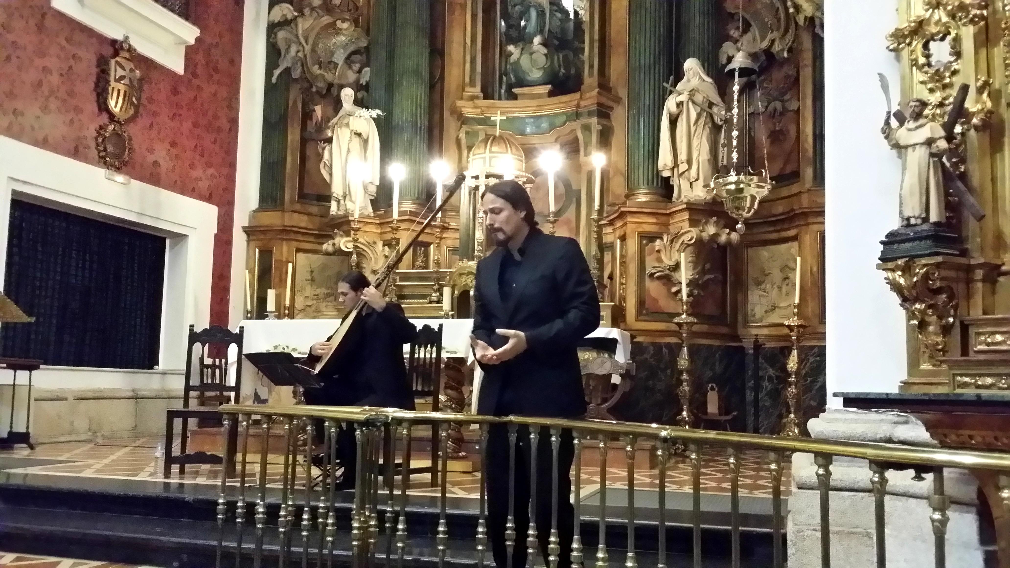 Homenaje al contratenor Baldasare Ferri en la Iglesia de las Mercedarias Góngoras