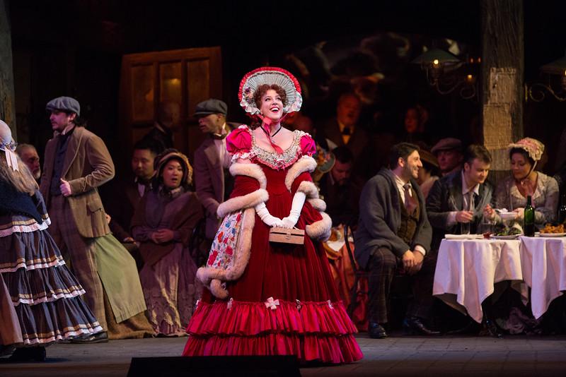 La Bohème en el MET. Foto: Marty Sohl/Metropolitan Opera