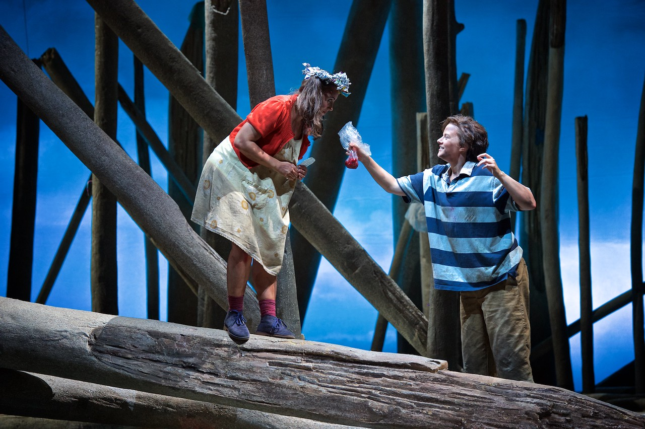 Hansel and Gretel by the Seattle Opera. Photo: Philip Newton