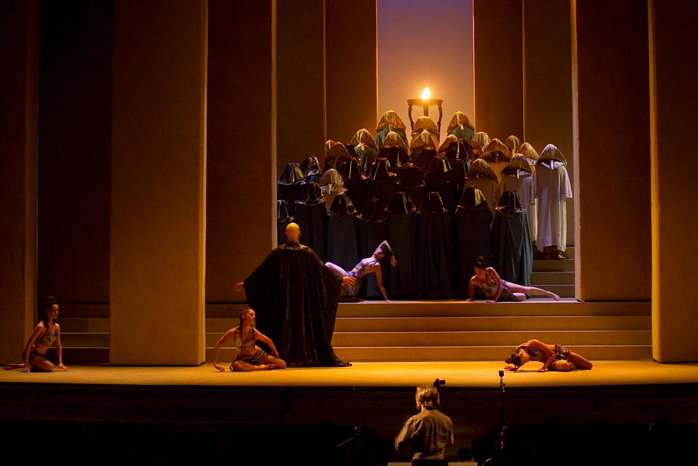 Aida al Teatro Coccia di Novara