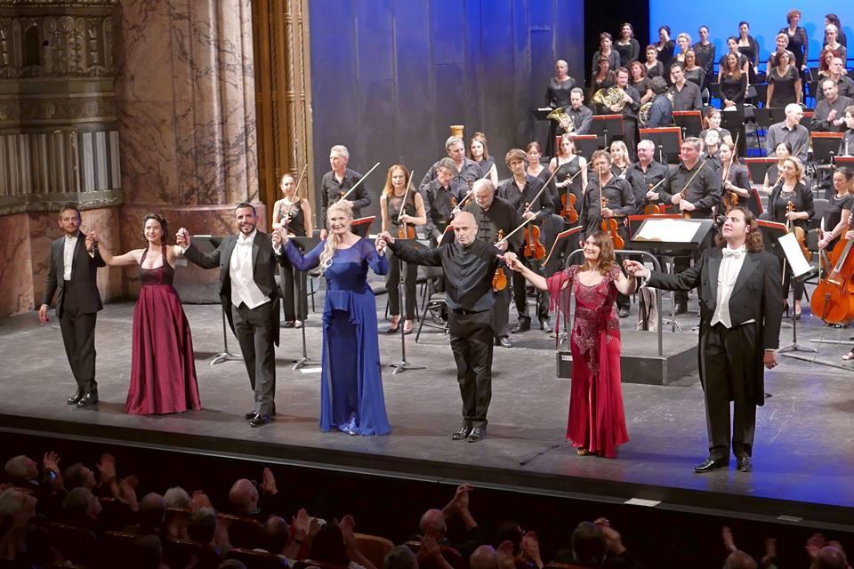 Maria Stuarda à l'Opéra de MARSEILLE. Photo : Christian DRESSE