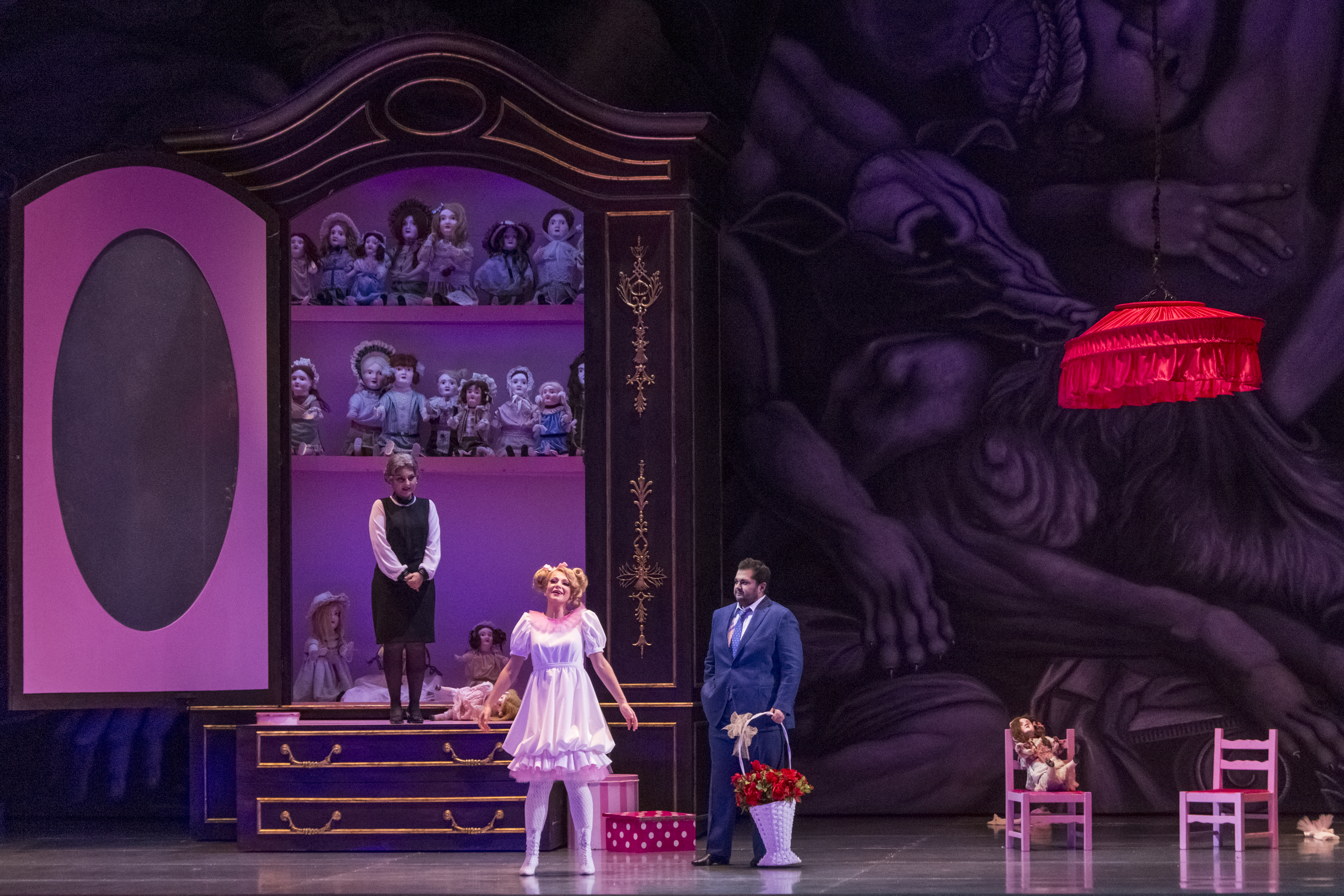 Rigoletto en el Comunale di Bolonia. Foto: Rocco Casaluci