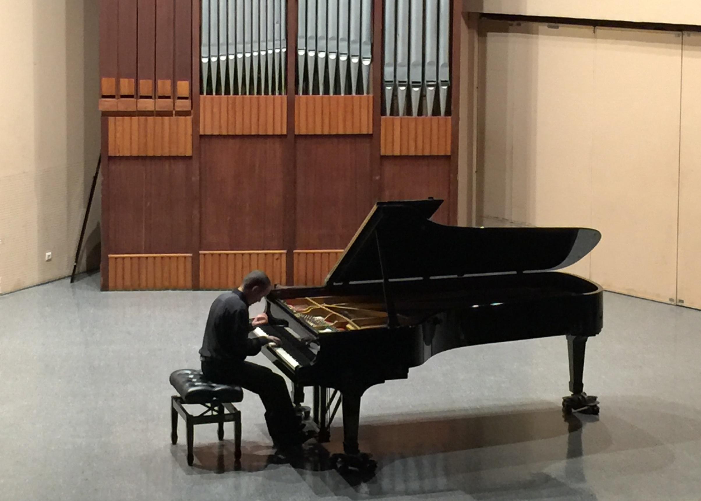 Recital de Alejandro Algarra en el Festival Rafael Orozco