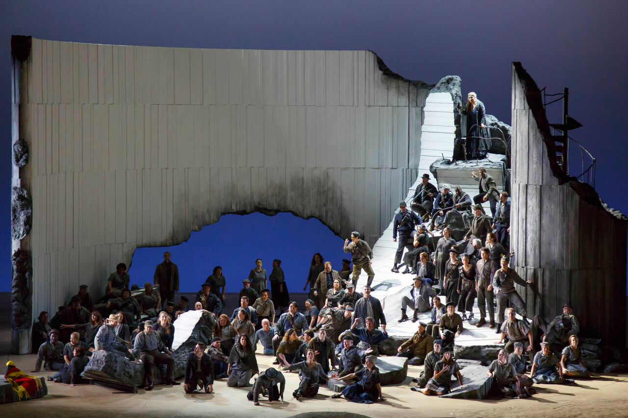 Les Troyens. Foto: Stefany Phillips (Lyric Opera, Chicago)