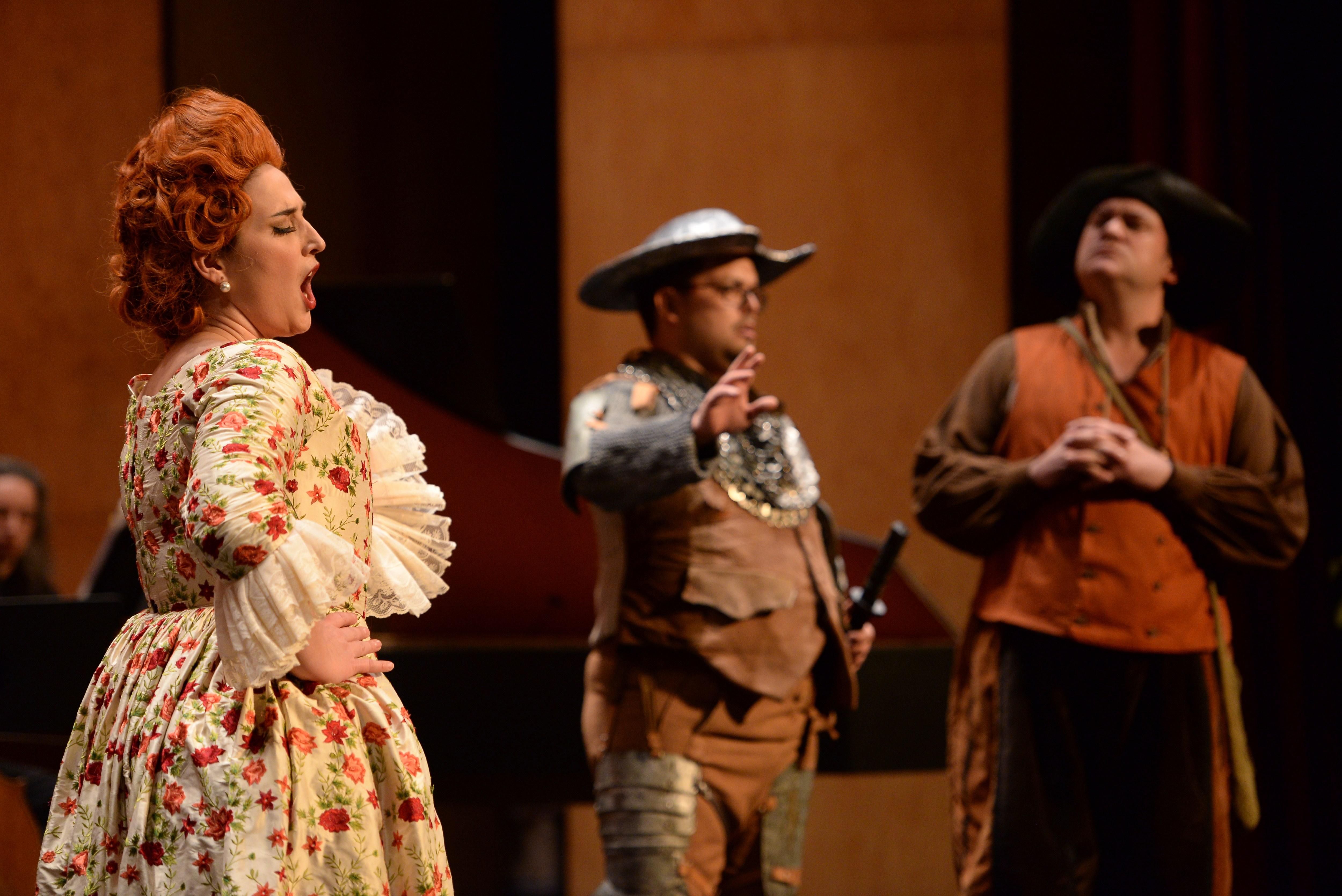 Don Quijote en la casa de la Duquesa de Boismortier en el Palacio de Bellas Artes de México. Foto: FIC
