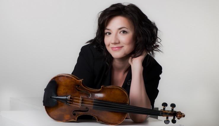 La violinista rusa Yulia Iglinova