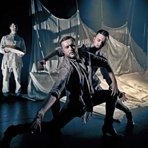 Daniel Doña y Cristian Martín en su versión de Córdoba, de Albéniz, incluida en su coreografía HABITAT. Foto: marcosGpunto