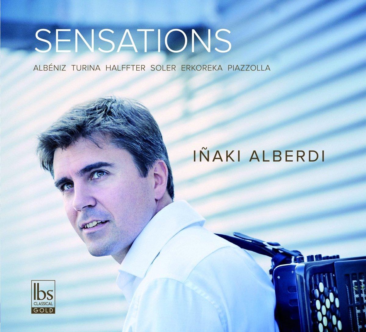 Sensations, nuevo CD del acordeonista Iñaki Alberdi