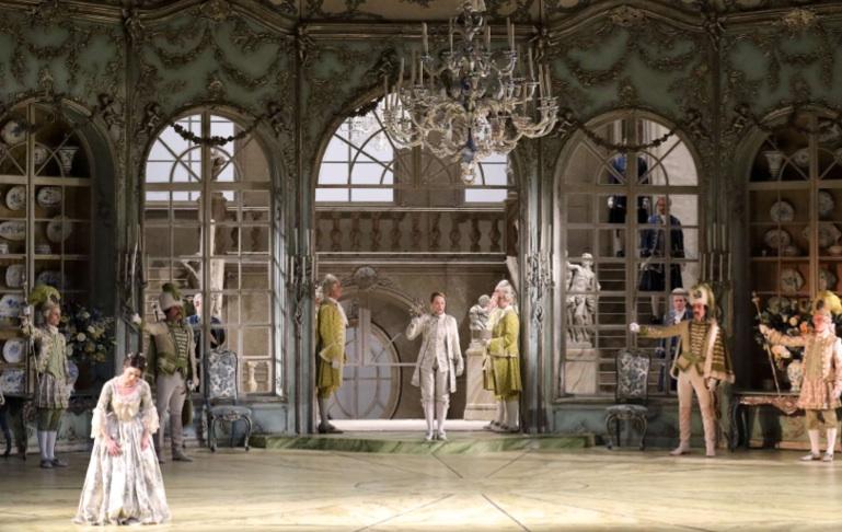 Der Rosenkavalier en Munich. Foto: W. Hösl