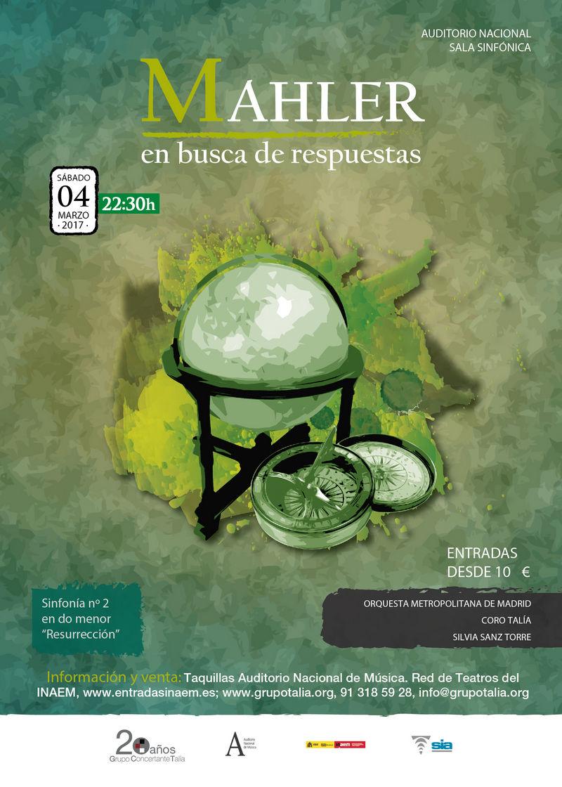 """Sinfonía nº 2 """"Resurrección"""" de Mahler, con Silvia Sanz Torre al frente de la OMM y Coro Talía"""