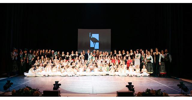 25º Aniversario de la Escuela de Danza de Las Rozas. Homenaje a su primera directora, la bailarina del Ballet Nacional de España Ana González