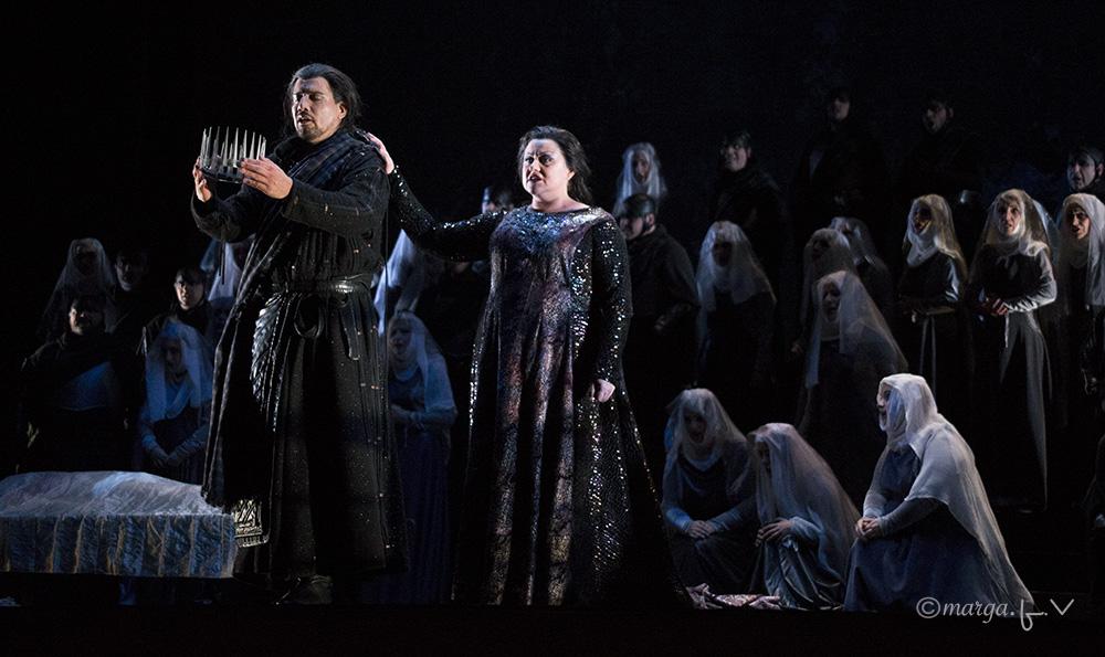 Un Macbeth sin gafe inaugura la XXXI Temporada de Ópera del Teatro Principal de Palma. Foto: Marga F. Villalonga