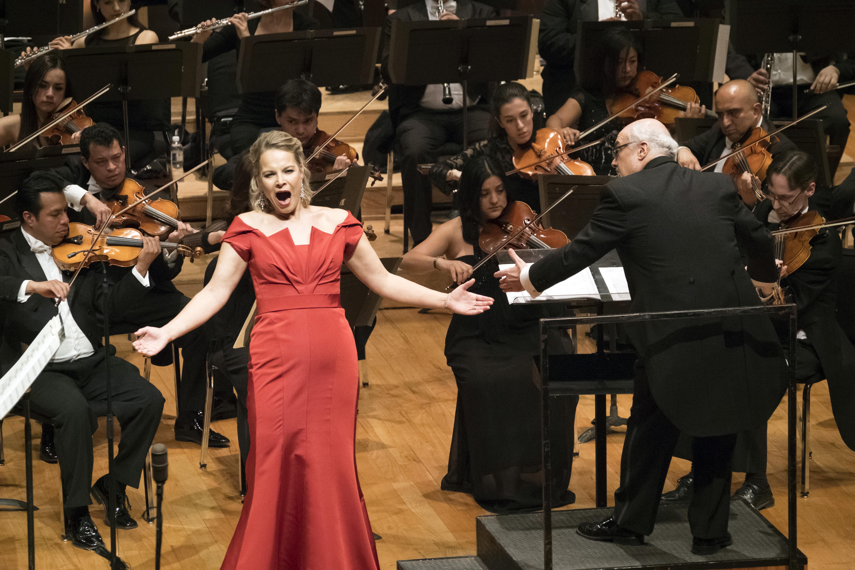 Concierto de Elīna Garanča en México