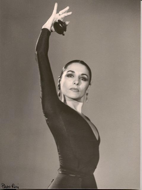 Ana González en una foto de su etapa como primera bailarina del Ballet Nacional de España