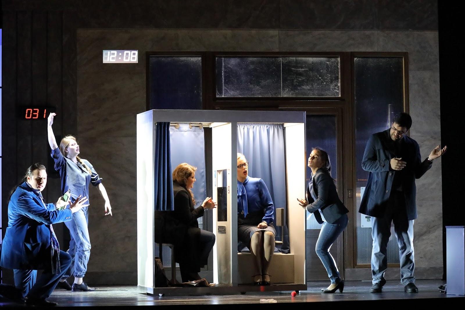 La Opera Studio de la Bayerische Staatsoper lleva El Cónsul de Menotti al Teatro Cuvilliés. Foto: W. Hösl