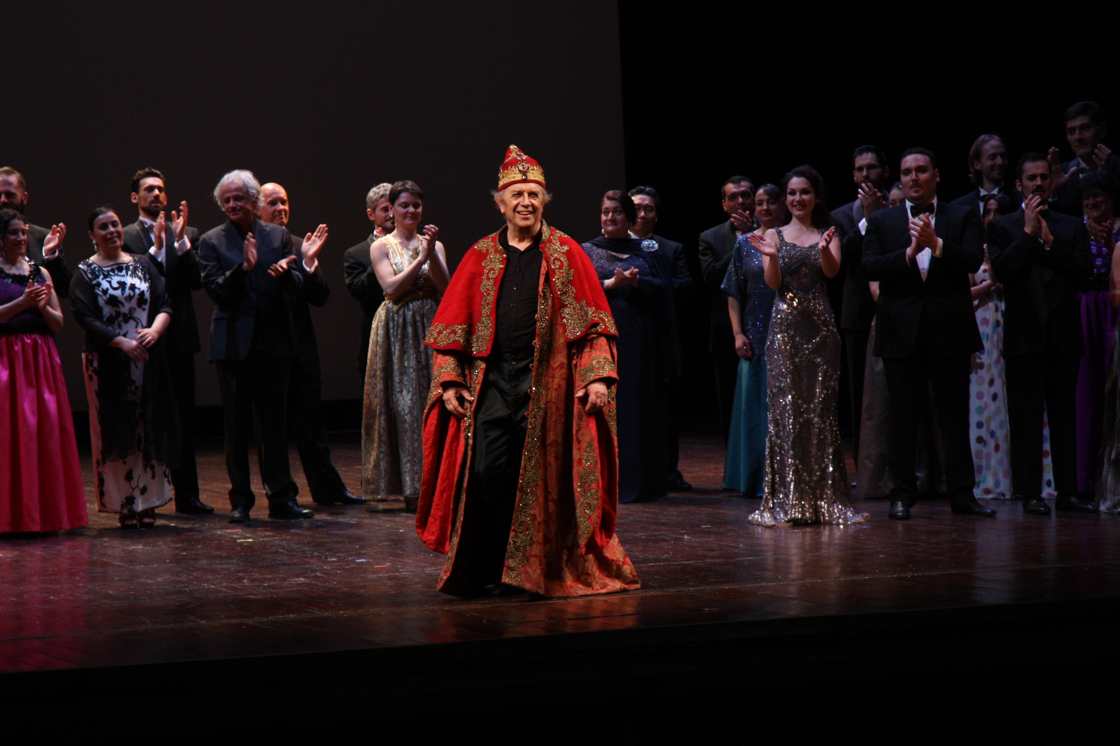 Leo Nucci festeggia i 50 anni di carriera a Piacenza con Avrò dunque sognato