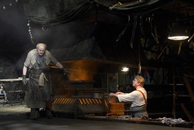 Stefan Vinke es el héroe del Siegfried en Berlín. Foto: B. Stöss