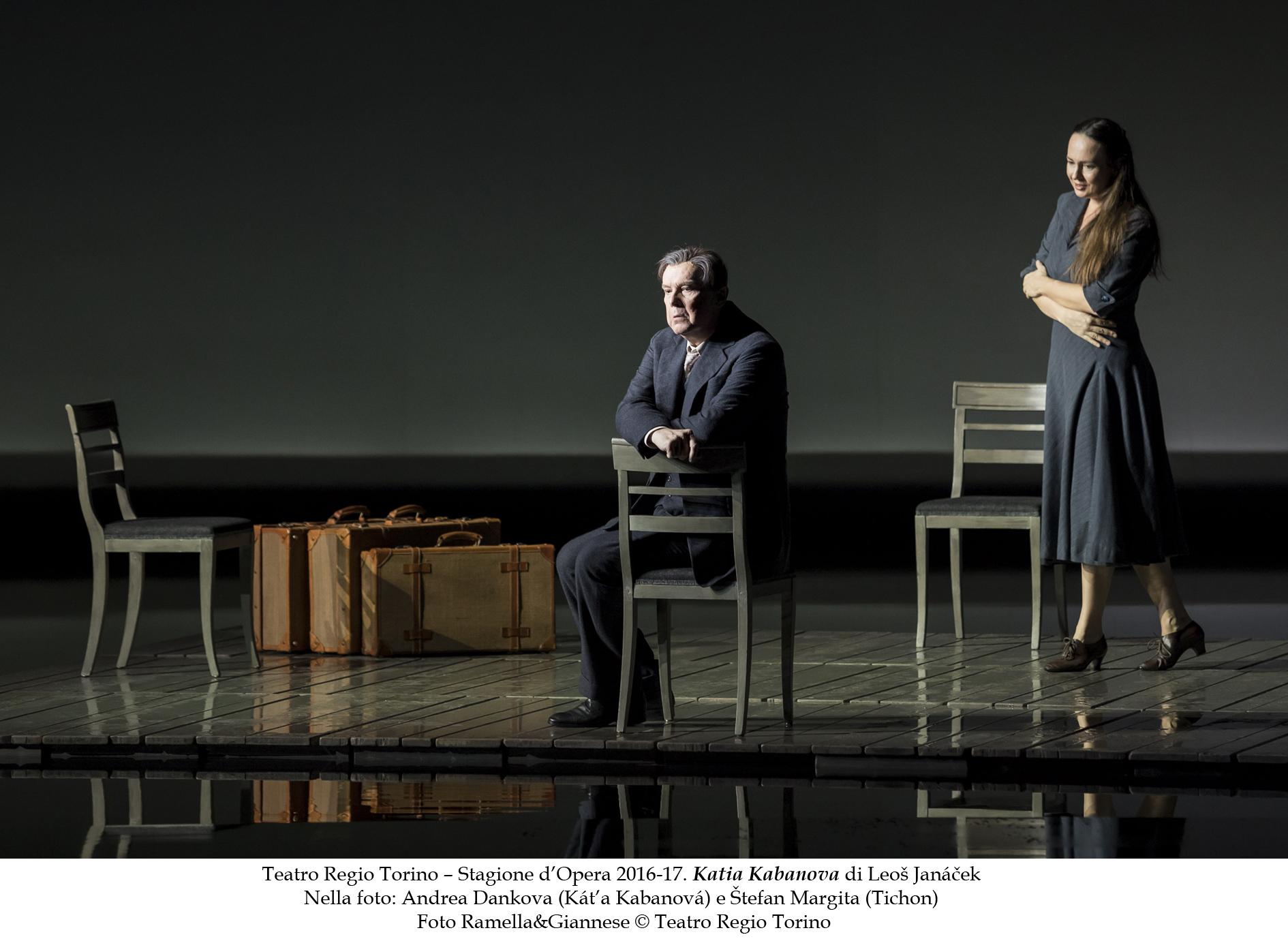 Káťa Kabanová en Turín. Foto: Ramella&Giannese - Teatro Regio Torino