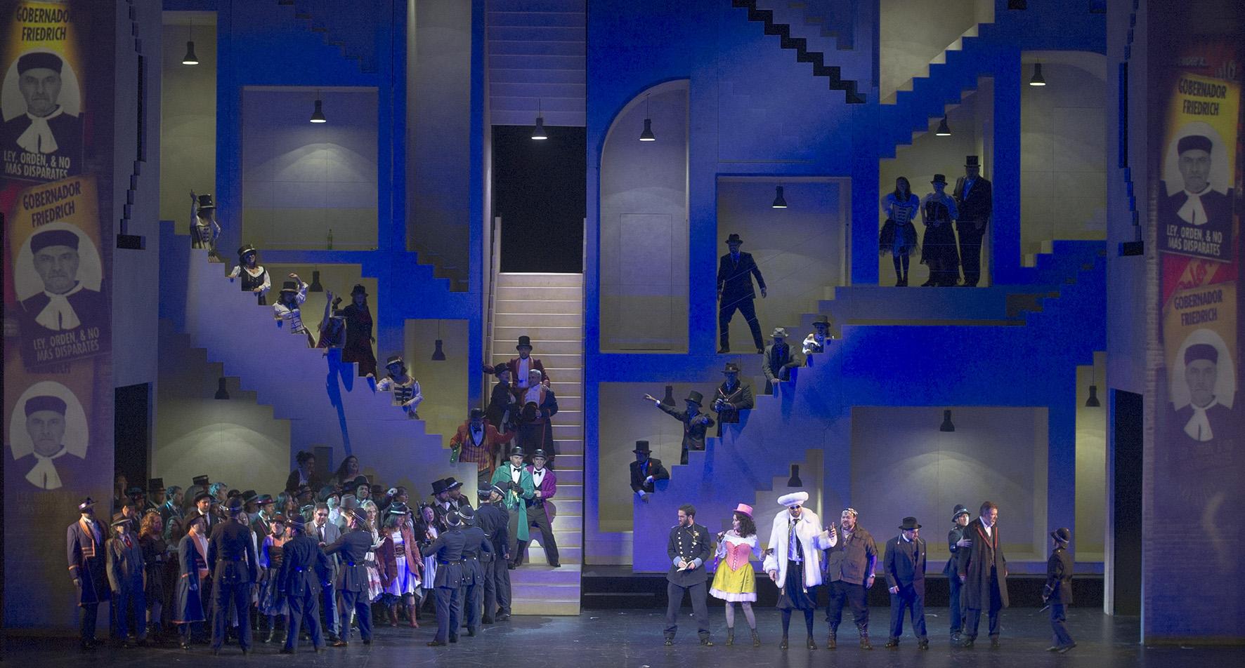 La Prohibición de amar en Buenos Aires. Prensa Teatro Colón /Arnaldo Colombaroli