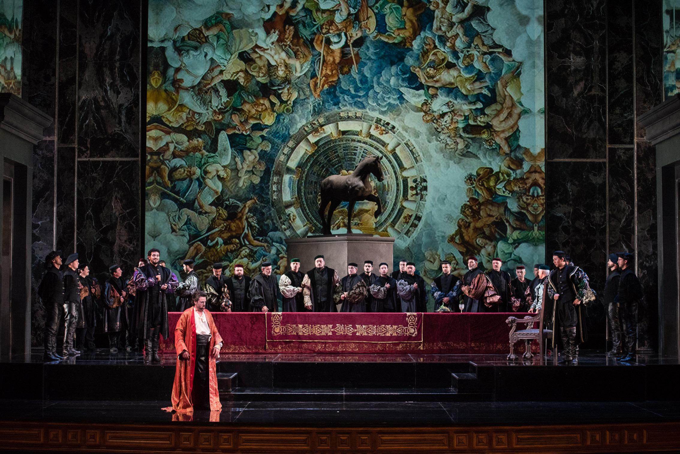 Tres grandes en el Rigoletto de Las Palmas. Foto: NACHO GONZÁLEZ / ACO