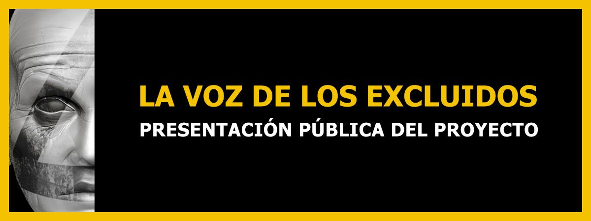 Presentación del proyecto artístico-social La voz de los excluidos en Sevilla