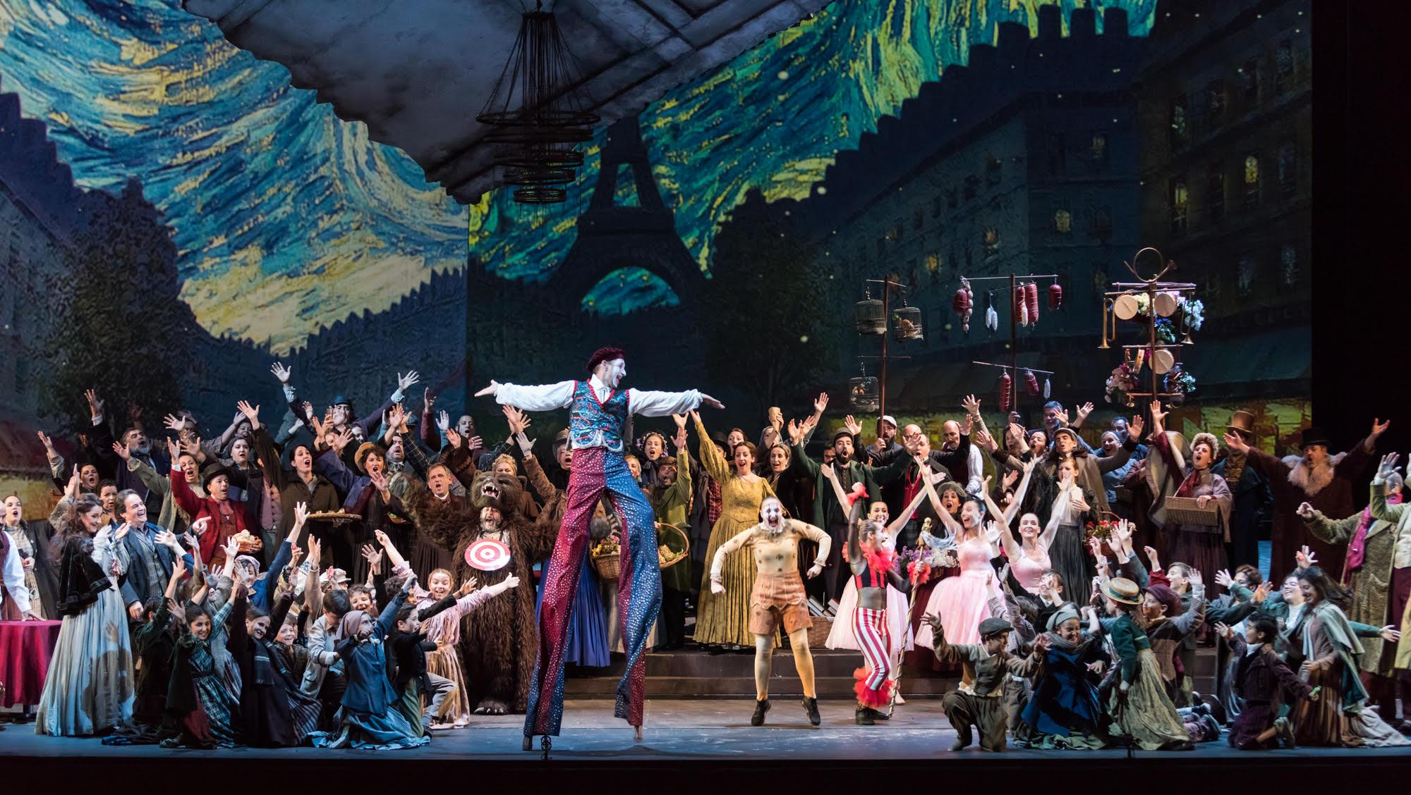 La Bohème de la Maestranza. Foto: Teatro de la Maestranza