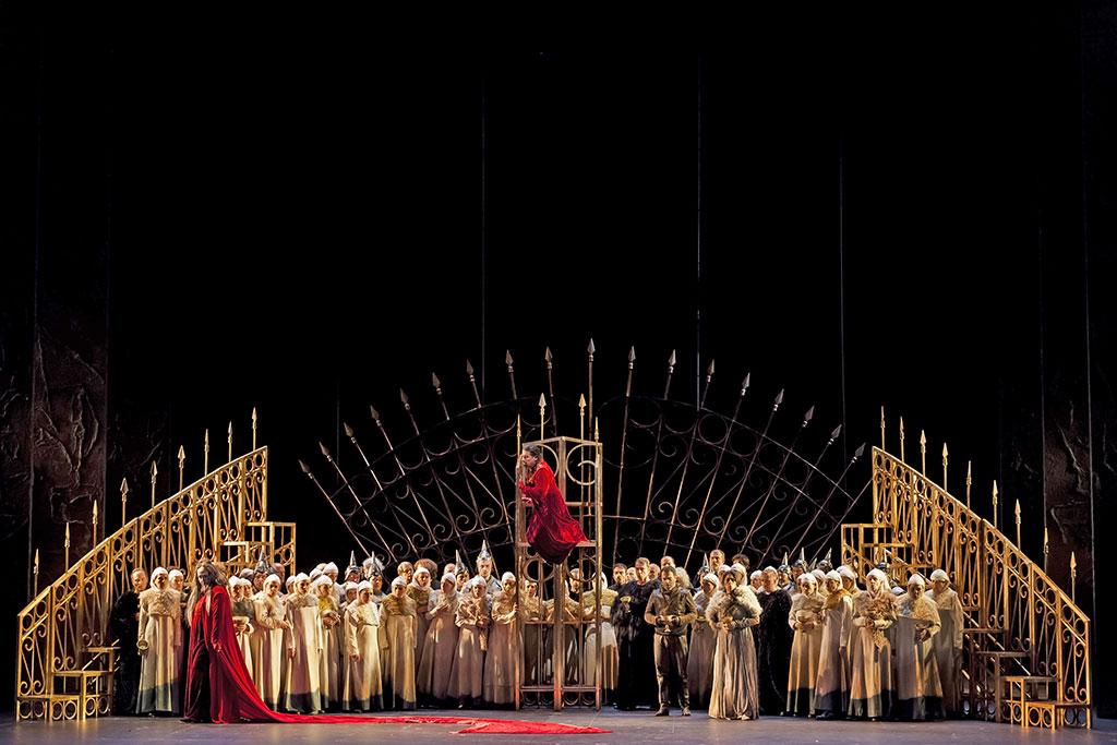 Macbeth al Teatro Regio di Torino. Foto: Edoardo Piva