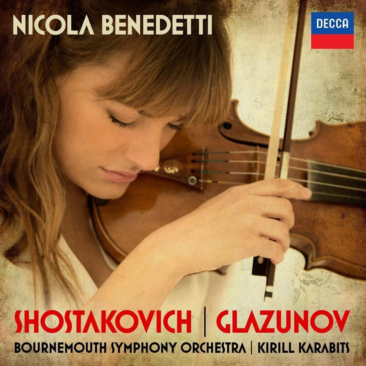 Nicola Benedetti: música rusa para violín y orquesta