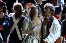 Excepcional Anja Harteros y bien Kaufmann en el Andrea Chenier de Munich. Foto: W. Hösl