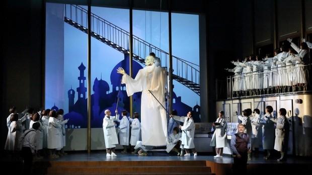Festival d'opéra de Munich: un Obéron plus grotesque que féerique. Photo: W. Hösl