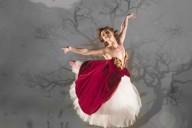 Las Zapatillas Rojas. Ashley Shaw (Victoria Page). Foto, Johan Persson