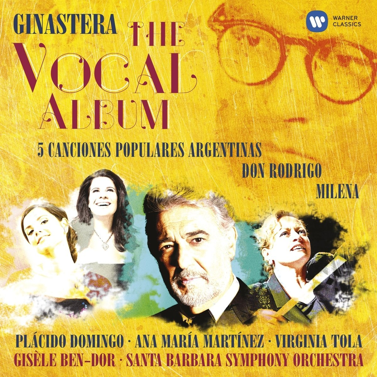 Ginastera: The vocal album