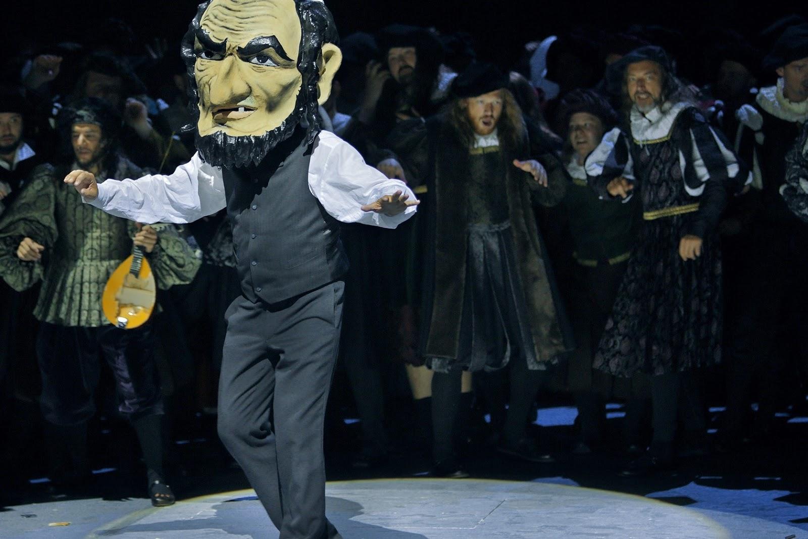 Johannes Martin Kränzle, Beckmesser © Bayreuther Festspiele / Enrico Nawrath