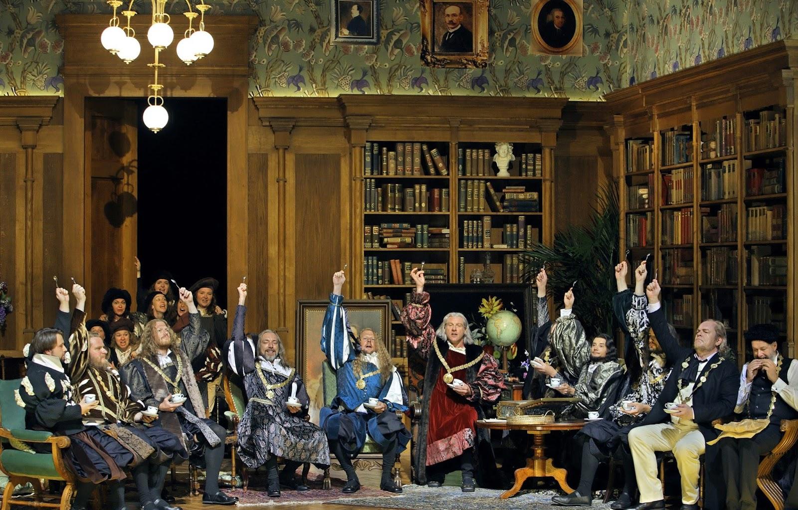 Les maîtres chanteurs à Wahnfried © Bayreuther Festspiele / Enrico Nawrath