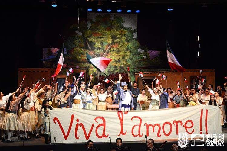 Viva l'amore!. Foto: Difusión y Fomento a la Cultura del IPN