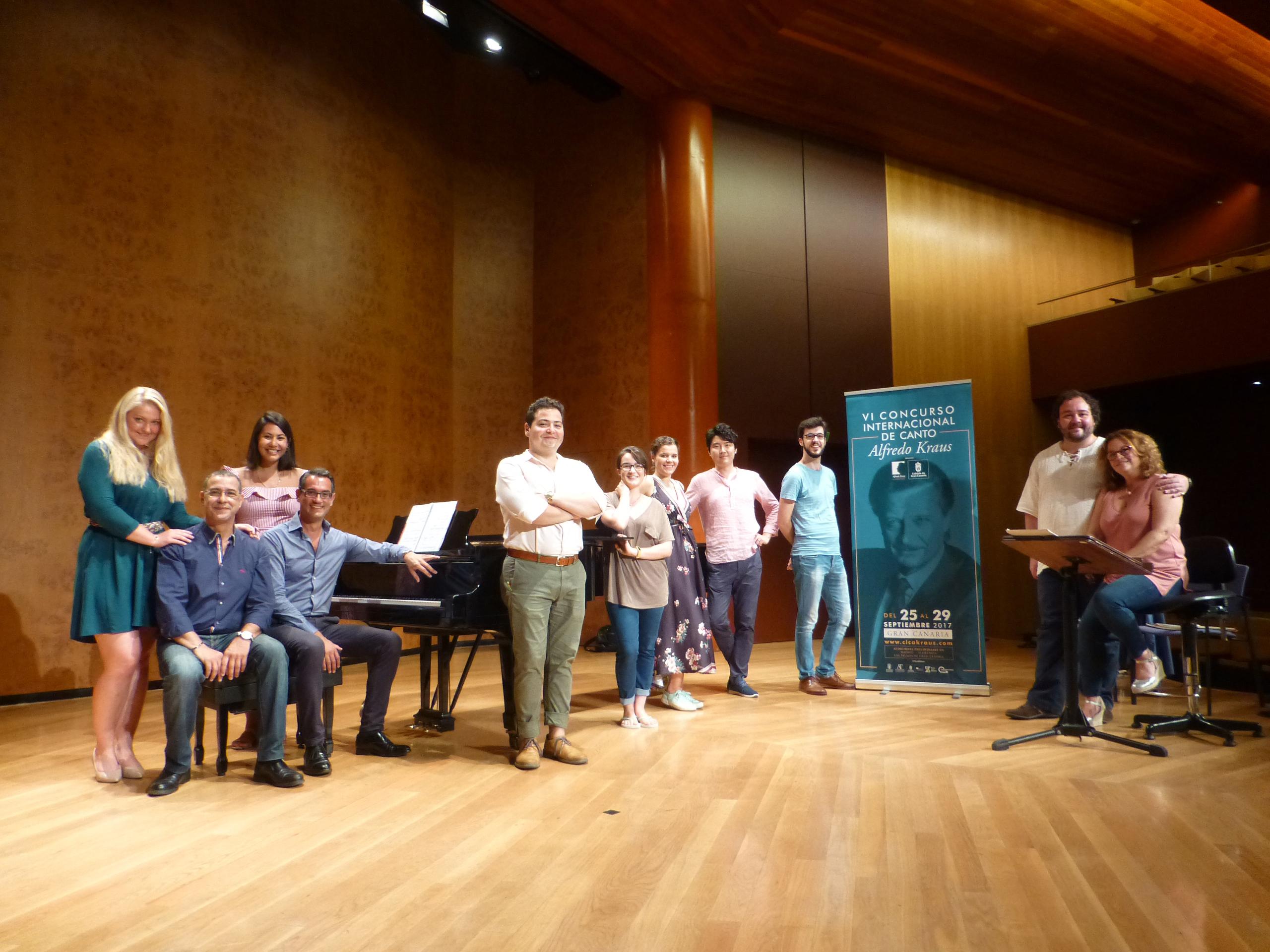 Once cantantes superan las pruebas semifinales en Gran Canaria y pasan a la Final del VI Concurso Internacional de Canto Alfredo Kraus