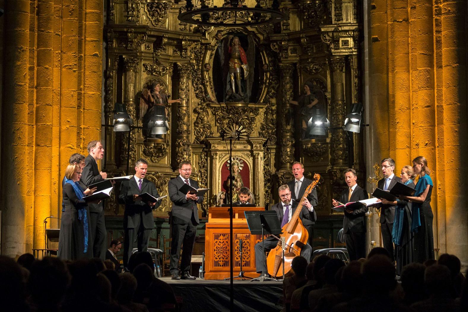 Exquisita delicadeza musical de Vox Luminis en Estella