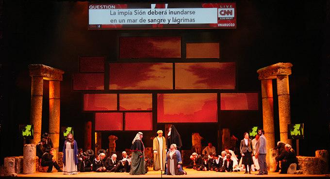 Nabucco en el Nuevo Apolo