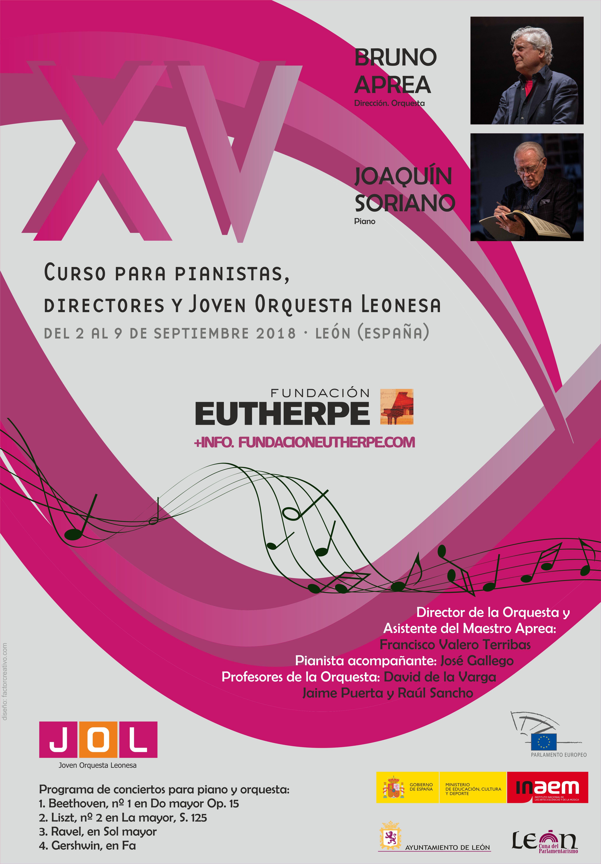 Curso para pianistas, directores y Joven Orquesta Leonesa